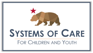 California Systems of Care Logo captioned