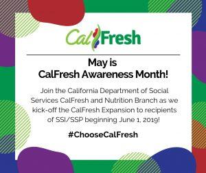 CalFresh Awareness Month