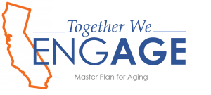 Together We EngAGE Master Plan for Aging Logo