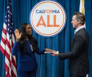 Governor Newsom Swearing In Dr. Nadine Burke Harris, California Surgeon General