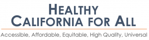 Healthy California for All Commission Logo