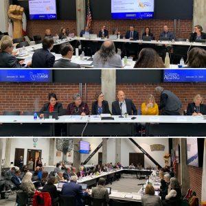 Master Plan for Aging Stakeholder Advisory Committee meeting held in Sacramento