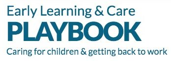 Early Learning and Care Playbook Logo Text