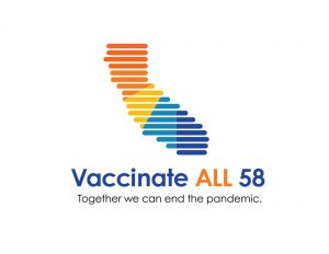 Vaccinate All 58. Together we can end the pandemic.